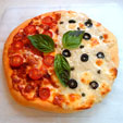 2種のピッツァ