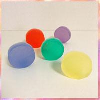 虹色ソープ
